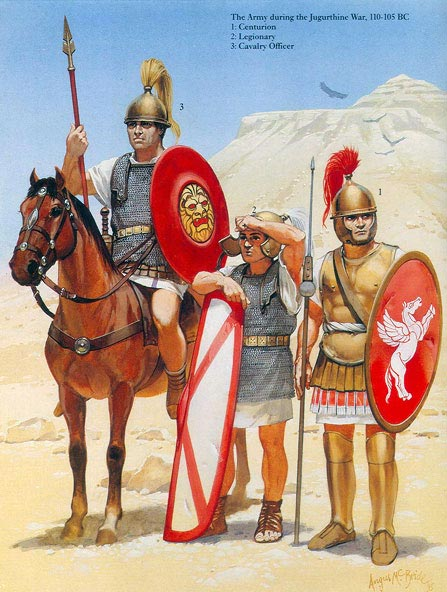 Легионеры времен Мария