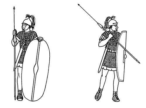 легионер, 1 в. до н.э.