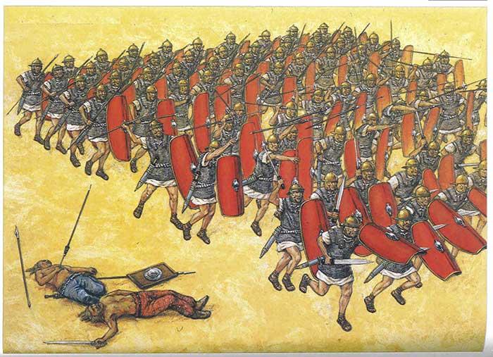 Легионеры 1 в. до н.э.