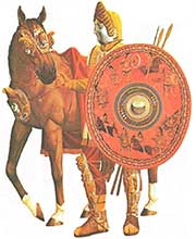 Римский всадник, турнир