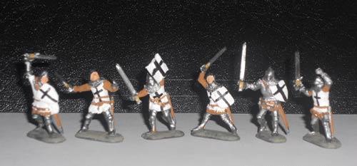 Пешие тевтонские рыцари