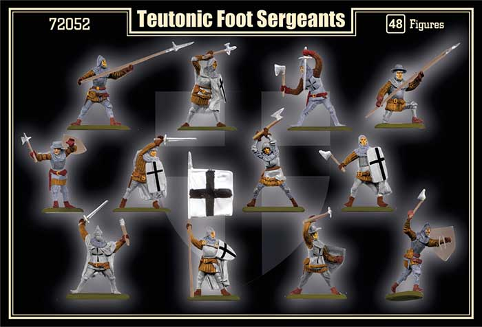 Пехота Тевтонского ордена