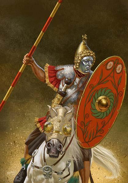Тренировка римской конницы