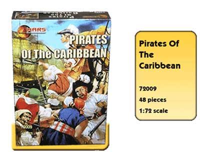 Набор солдатиков Карибские пираты