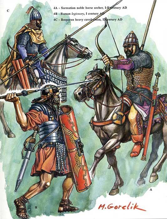 Сарматы против легионов