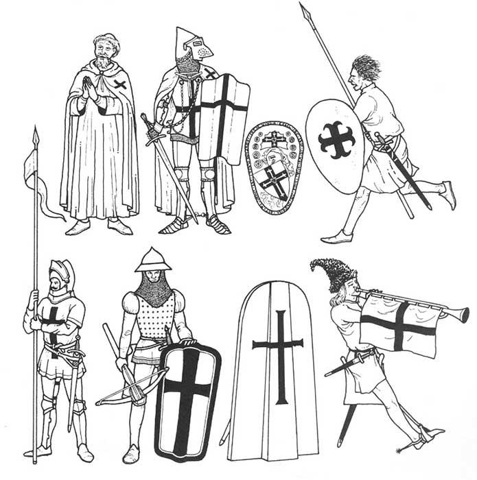 Воины Тевтонского ордена