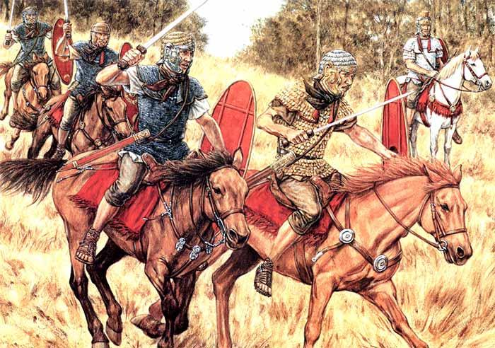 Состязания римской конницы времен Адриана