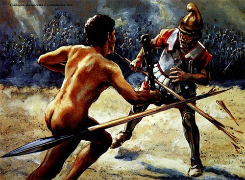 Поединок афинянина Диоксиппа и македонца Горрата