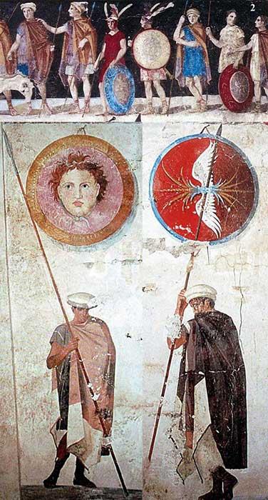 Вооружение македонян