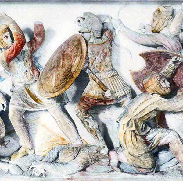 персидский лучник и такабара