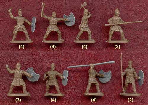 Набор солдатиков - персидская пехота