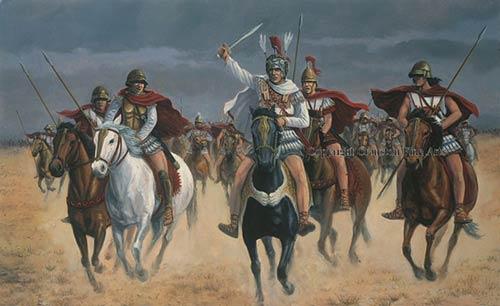 в битве при Гавгамелах