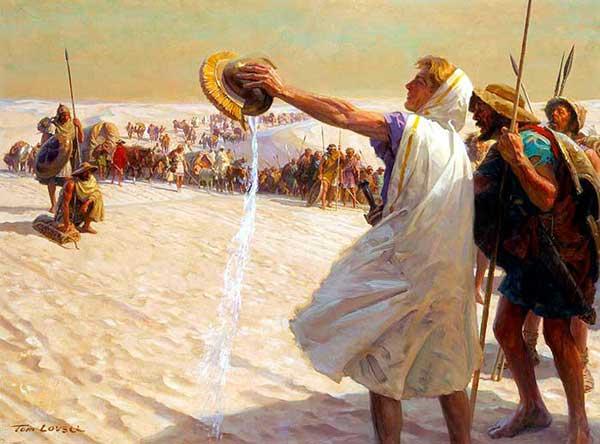 Александр Македонский - возвращение по пустыне