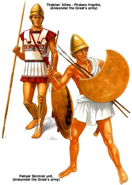 греческие союзники Александра