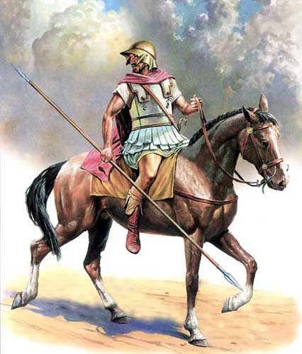 Греческий всадник