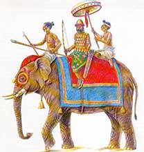 Индийский боевой слон
