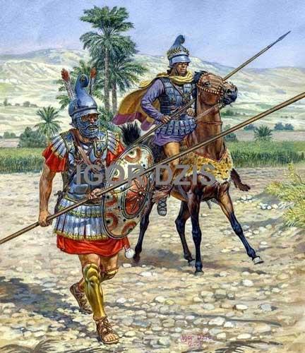 Элитные воины македонян