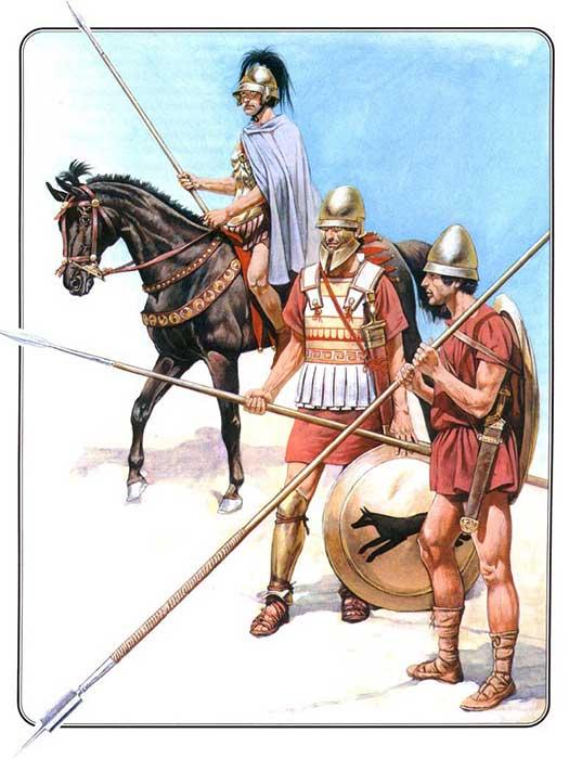 Македонские воины