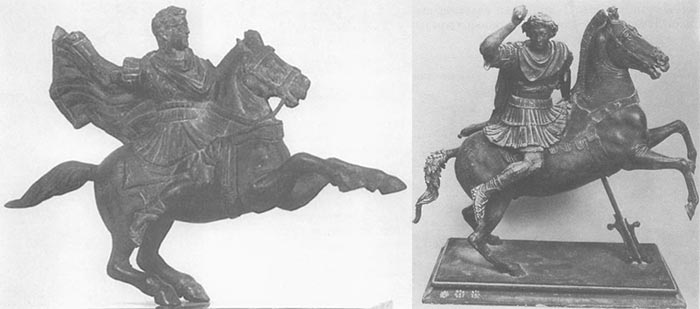 Статуэтки, изображающие Александра Македонского