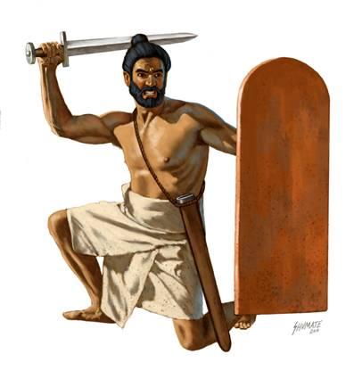 Индийский пехотинец