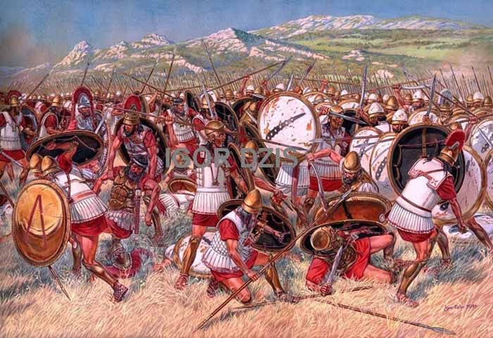 Битва при Коронее, 394 г. до н.э.