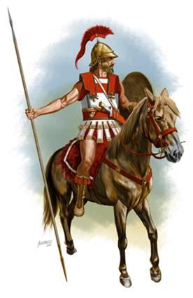 Греческий всадник около 200 г. до н.э.