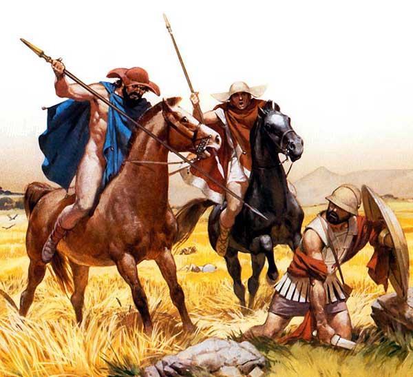 Греческая конница 5 в. до н.э.