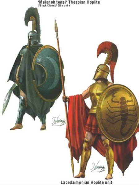Гоплиты 6 начало 5 в. до н.э.