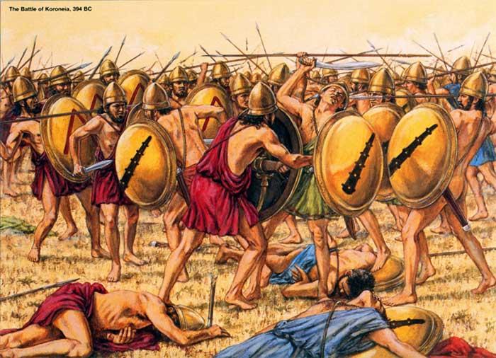 Битва при Коронее