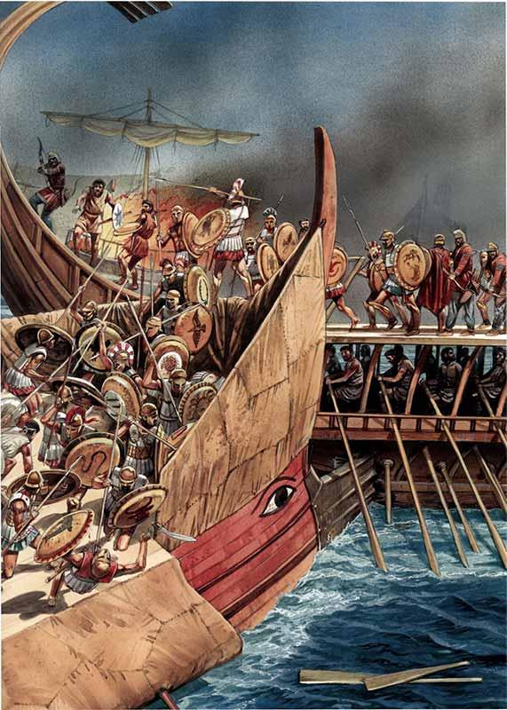 Морская битва под Сиракузами