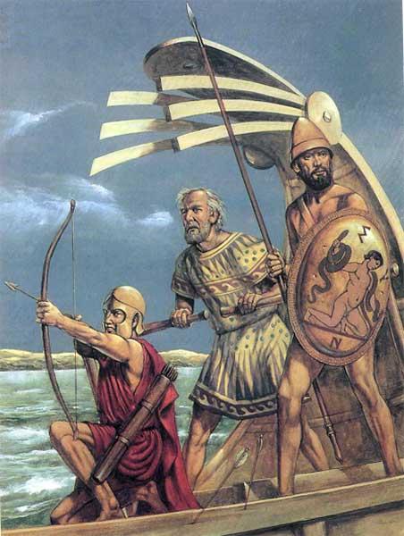 Эпибаты - греческая морская пехота