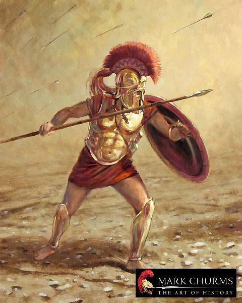 гоплит, 5 в. до н.э.