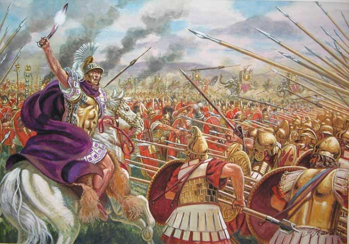 the phalanx as the unbeatable force under the command of alexander the great of macedonia Contents alexander the great the successors the gauls the hellenistic states the end of the hellenistic states alexander the great coming to the throne in the years up to 338 bce most of the city-states of mainland greece had fallen under the hegemony of macedonia, at that time ruled by its highly capable king, philip [.