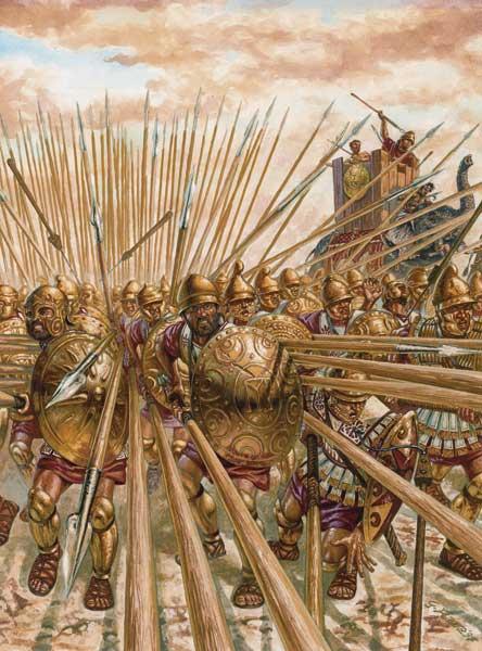 Фаланга Пирра в битве при Аскуле