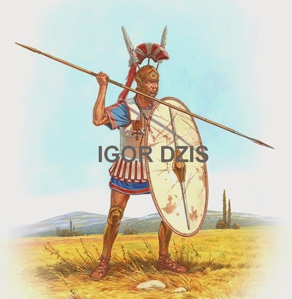 Самнит 3 в. до н.э.