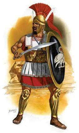 Гоплит 4 в. до н.э. - Хабрий