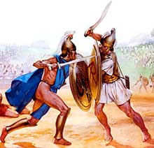 Гоплиты 4 в. до н.э.