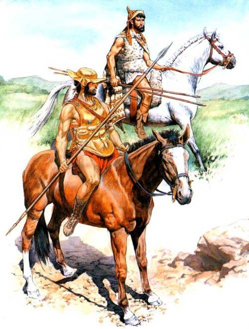 Греческая конница 5-4 в. до н.э.