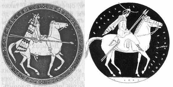 Греческая конница