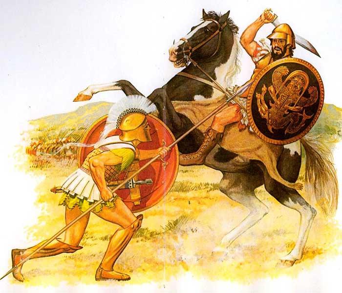 Греческий всадник 5-4 в. до н.э.