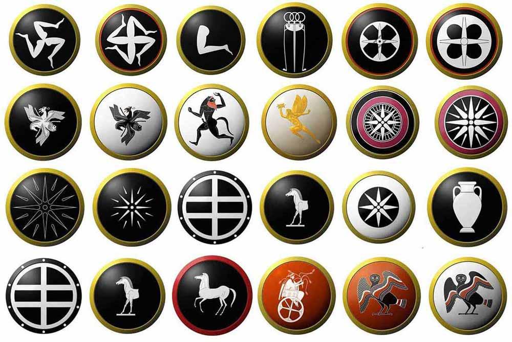 Аттические щиты