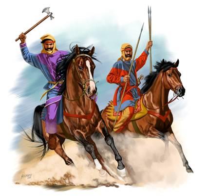 Персидская конница
