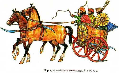 Персидская серпоносная колесница