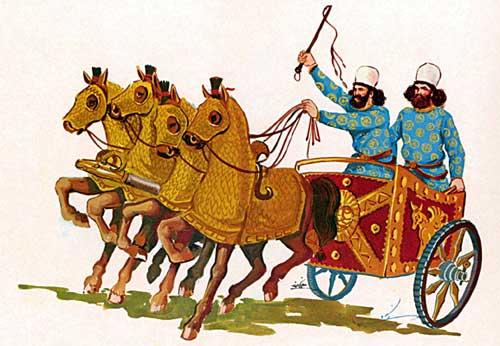 персидские колесницы