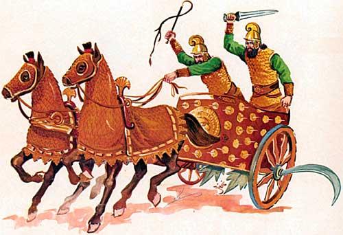 Персидская колесница