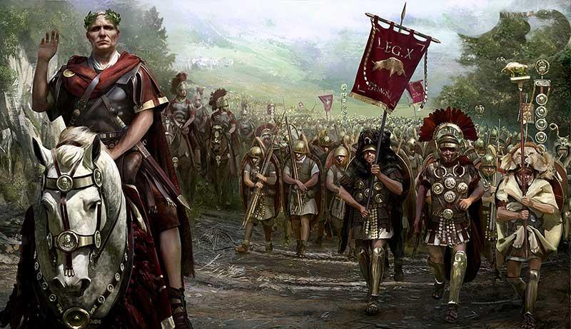 Гай Юлий Цезарь и 10 легион