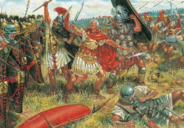 Гай Юлий Цезарь в битве при Мунде