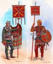 знаменосцы персидской армии