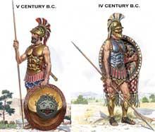 Наборы солдатиков древних греков