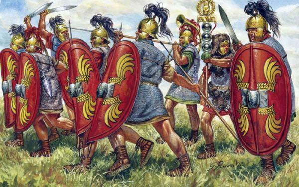 Легионеры Цезаря